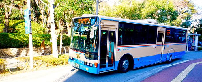 Osaka University inter-campus bus